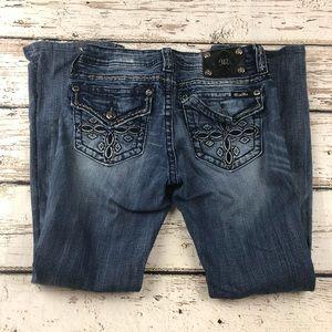 Miss Me Mid-Rise Boot Cut Jeans MW5919B Size 29